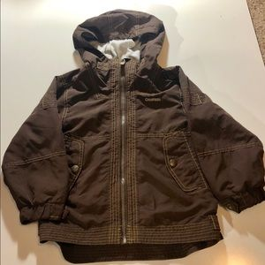 Vintage Oshkosh B'gosh jacket size 7 brown